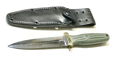 Vintage AL MAR Applegate Fairbarn Seki Japan Boot Dagger Knife Original Sheath