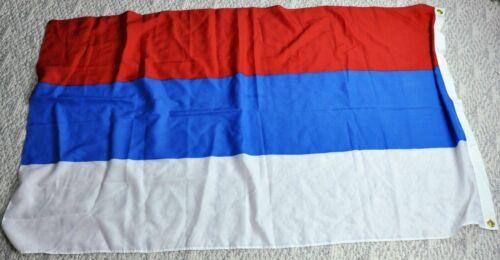 "Russian Flag 35"" x 60"" 89 x 152 cm  100% Polyester. (BI#190204)"