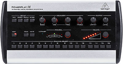 New Behringer Powerplay P16-M Personal Make Offer Auth Dealer Best Deal on (Best Powered Monitors)
