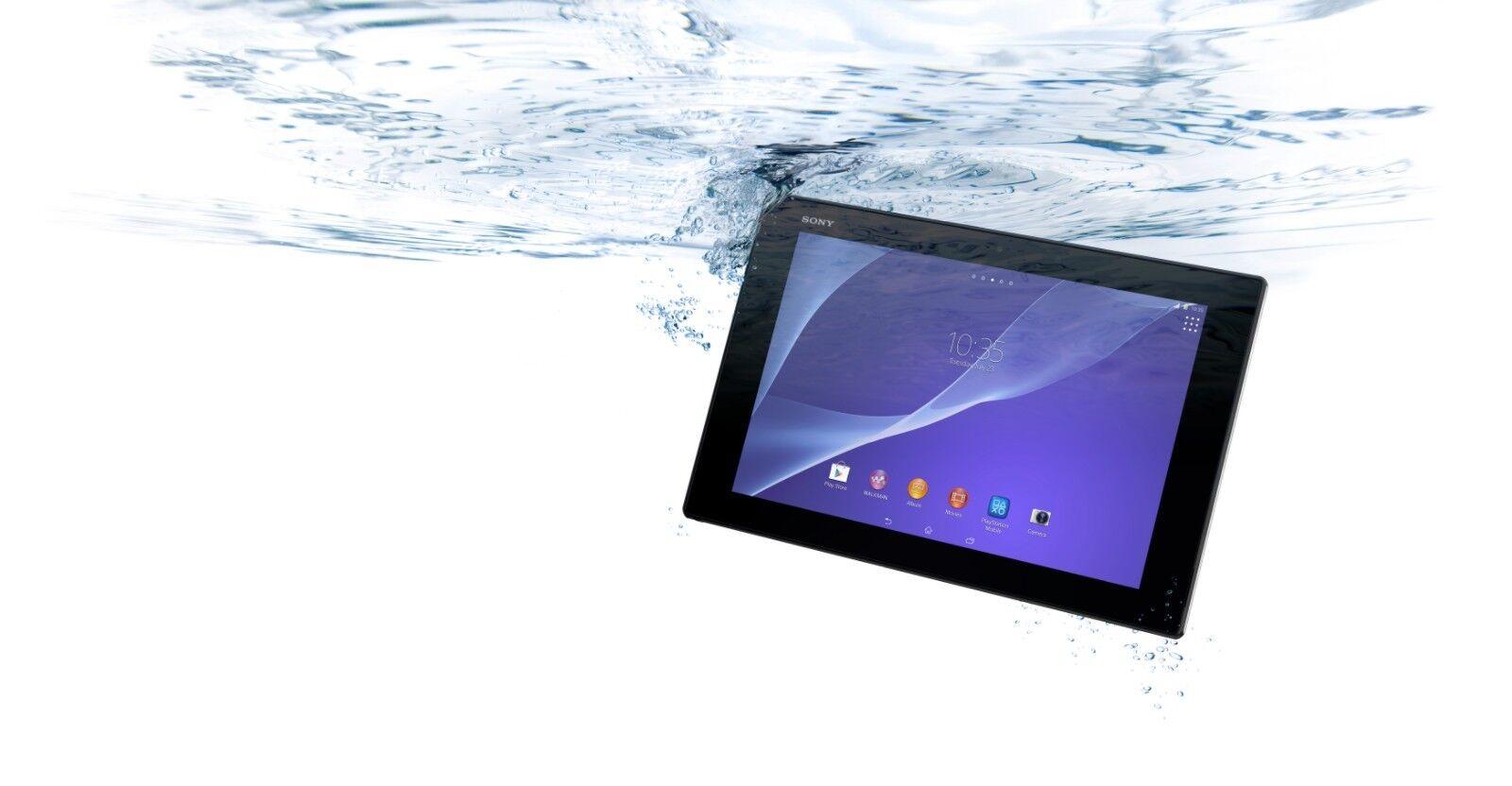 WATERPROOF Sony Xperia Z2 4G LTE Tablet Black 101 Inch