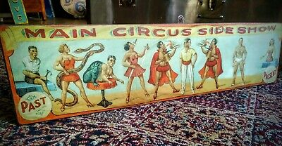 Fairground Circus Carnival Freak Show Sign](Freak Show Sign)
