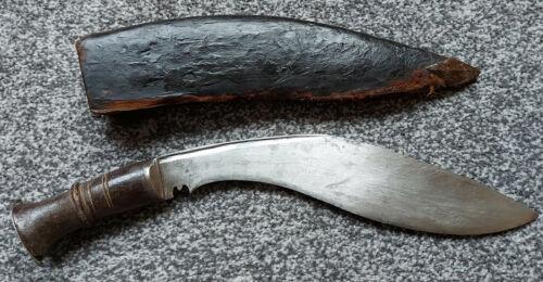 Antique Vintage Nepalese Kukri Khukuri Khukri Knife Sword Long Leaf Type