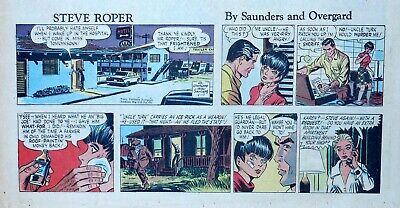 Steve Roper & Mike Nomad by Overgard - color Sunday comic page - May 17, 1964](May Coloring Pages)