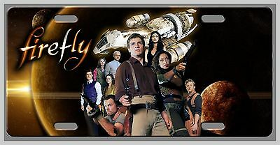L@@K! Firefly Serenity License Plate Vanity Auto Tag Room sign