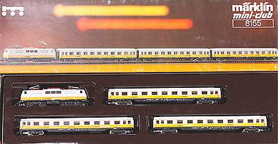 Märklin Z 8155 Lufthansa Airport Express Train Set , 1991 Only, New in Box for sale  Boxford