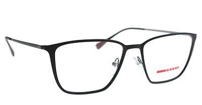 NEW AUTHENTIC PRADA SPORT VPS 51H DG0-1O1 Black Men Eyeglasses 52mm 17 140 ITALY