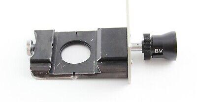 Nikon Diaphot Tmd Fluorescence Cube Slider Attachment Microscope