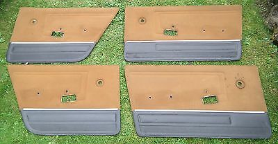 ALFA ROMEO ALFASUD SET OF 4 DOOR CARDS SEE DESCRIPTION  ALL PHOTOS