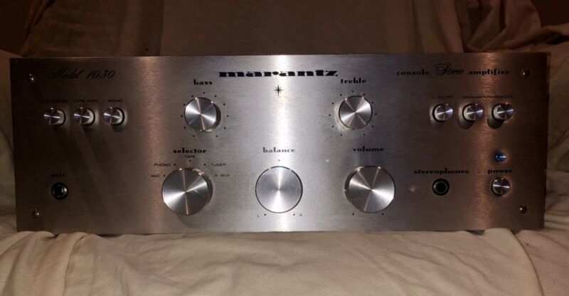 Marantz Model 1030 Stereo Integrated Amplifier ~SERVICED~ LOOK !in Excellent Con