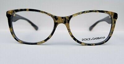 Dolce & Gabana Eyeglasses Yellow Gold Black Tortoise DG 3174 NOS (Dolce & Gabana Glasses)