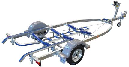 Dunbier Glider Pad Boat Trailer Boats up to 5.7m Galvanised
