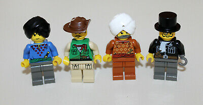 Lego Orient Expedition Scorpion Palace Minifigures 7418