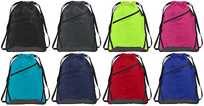 Cinch Sack Backpack (Sackpack Drawstring Backpack Sack Pack Cinch School Gym Bag All Sport)