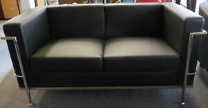 Ex Display Replica Horst Bruning 2 Seater Office Sofa Lounge
