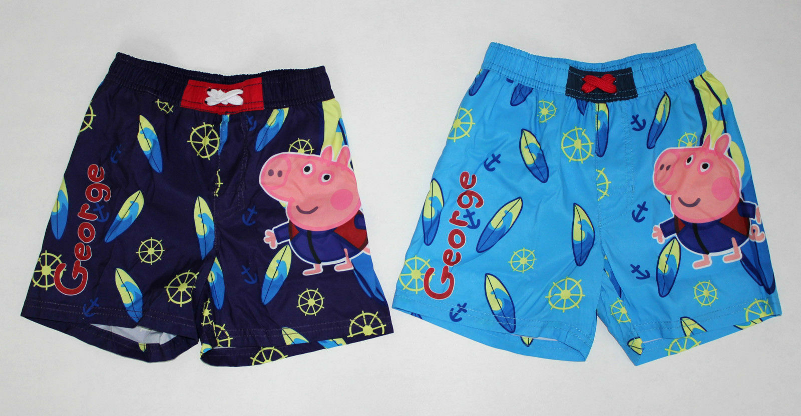 Peppa Pig Kinder Jungen Badehose Surfshorts Gr. 104-128,Badeshorts neu!