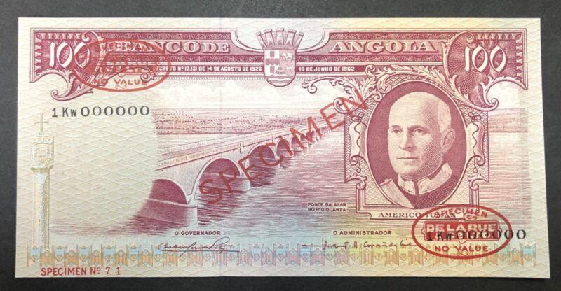 Angola Banknote Specimen  P94  UNC