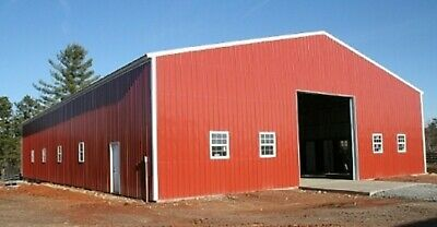 Steel Workshop Garage Utility Building Storage 60 X 51 X 20 Free Install
