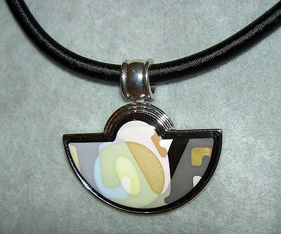 Frey wille authentic m frey wille ode to joy of life secret love half moon pendant necklace mozeypictures Choice Image