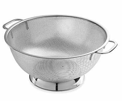 Stainless Steel Colanders Fine Mesh Food Strainer Countertop kitchen Vegetable