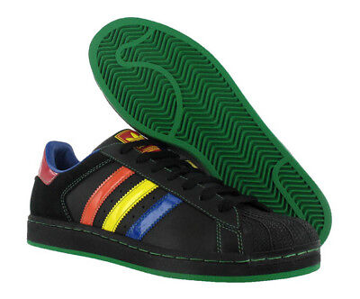 Adidas Superstar Ii 2 Black Blue Orange Green Red Adidas Superstar 2 Shoes