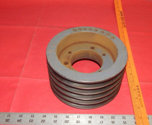 """Martin 5B70SF Pulley Sheave 5 Groove 7-1/4"""" (7.25"""") Outer Diameter"""