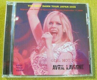 Avril Lavigne - Girl Hot Night - Bootleg Live in Nagoya Japan 2008