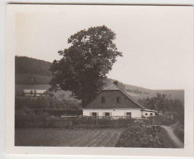 (F22822) Orig. Mini-Foto Würbenthal, Wohnhaus 1932