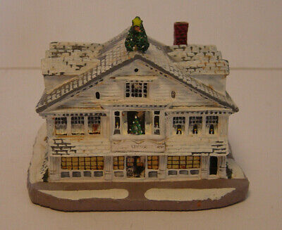 Norman Rockwell Main Street Studio Figurine Rhodes Numbered Family Trust Vtg (Main Street Norman)