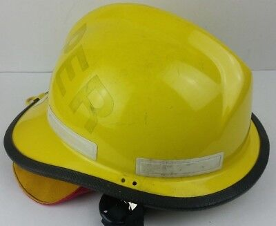 Cairns Brother 660 Firefighter Helmet Yellow Turnout Gear Display Decor Piece
