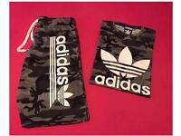 Camouflage Shorts Set Brand New