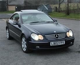 Mercedes clk320 77k lowest mileage for sale in the UK