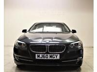 BMW 5 SERIES 3.0 525D SE 4d AUTO 202 BHP + 1 OWNER + S/H + SAT NAV + LEATHER (grey) 2010