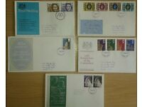 STAMPS - GREAT BRITAIN - ROYAL FAMILY FDC's
