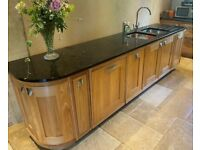 Kitchen Units - Handmade Elm Wood