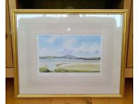 Framed Peter Annable print of Muckish. Limited edition.