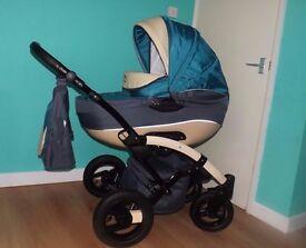Pram/stroller/car seat like new !!!