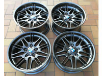 R18 Genuine Original OEM BMW E39 M5 Alloys Styling 65 Staggered