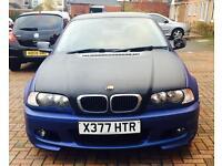 BMW 3Series Coupe, Matte Blue, Carbon Fibre Roof & Bonnet, ECU Remapped
