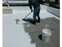leaking flat roofs ?? no more with rubber roofing liquid membrane leaks repaired from 49 pounds