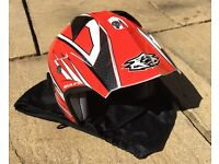 Wulfsport Motorcycle / Motocross / Trials Helmet - Size XL