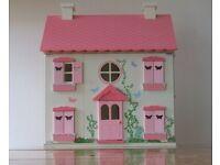 Asda Imaginarium Country Mansion Wooden Doll House