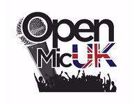 SHEFFIELD MUSIC COMPETITION – OPEN MIC UK 2016