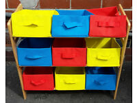 Kids Canvas Box Storage Unit