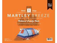 New Olpro MARTLEY BREEZE - INFLATABLE 6 BERTH TENT