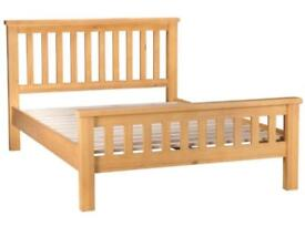 Bed frame and mattress double size