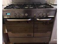 *NOW SOLD*NEW WORLD Gas hob / electric oven cooker freestanding 90cm