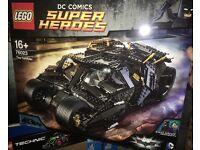76023 LEGO Batman's Tumbler New Sealed set