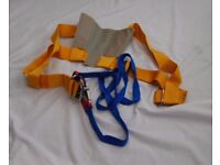 Secure sailing on deck harness
