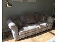 3 Seater Sofa and Snuggler Chair