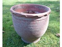Greek terracotta pot